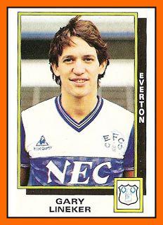 Gary Lineker Football Sticker