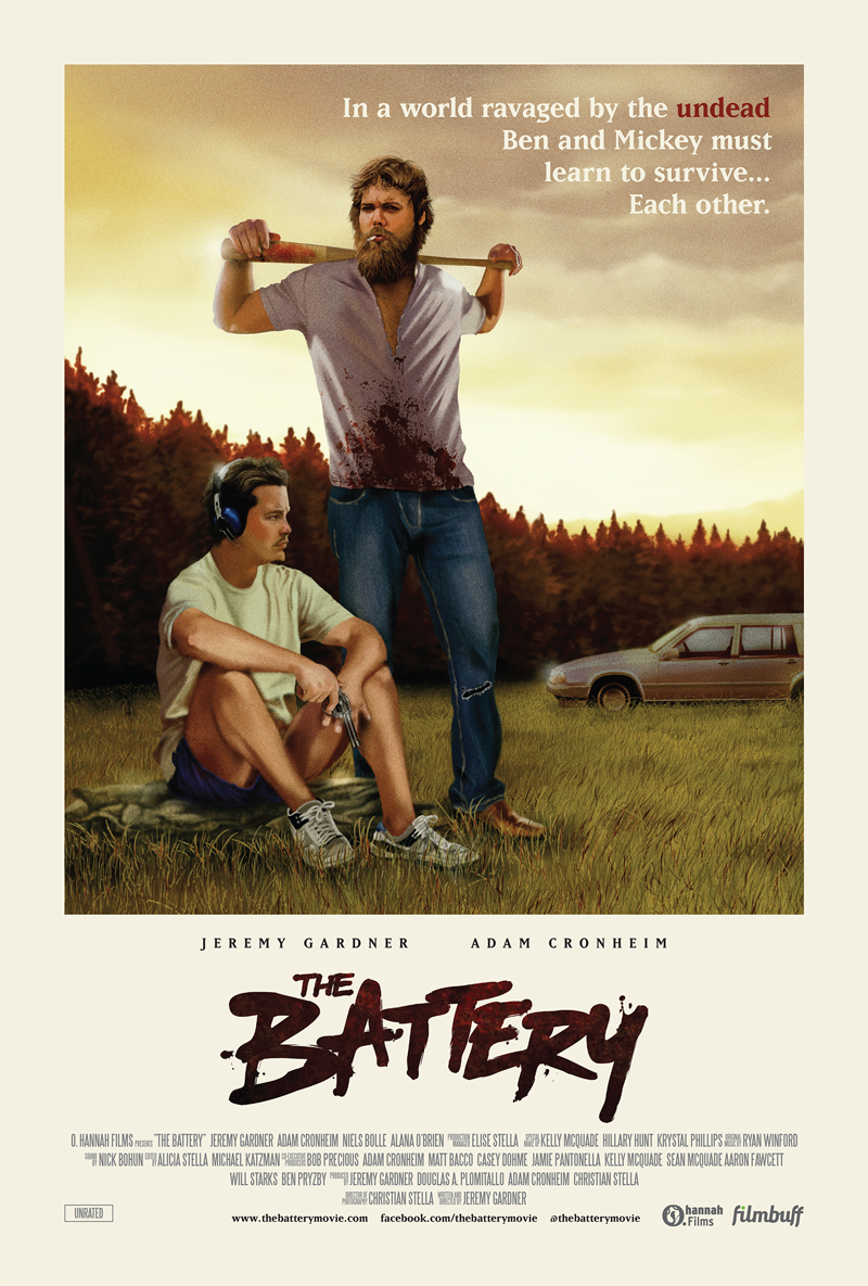 The Battery poster by greg bunbury