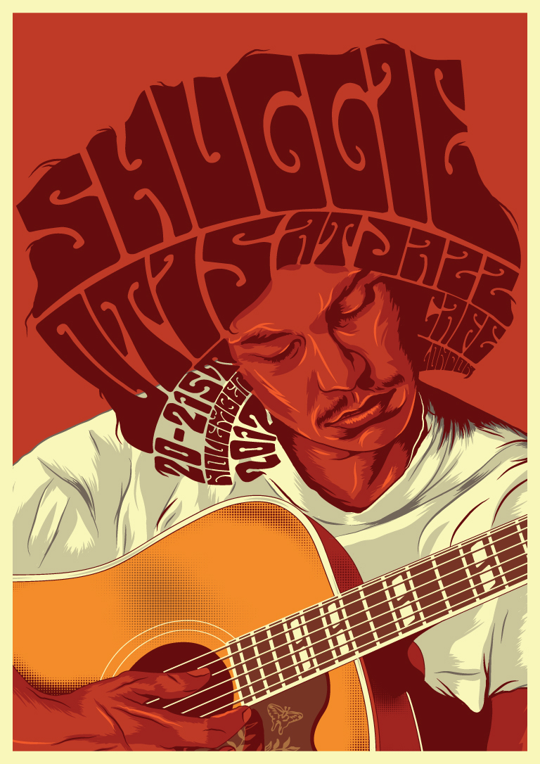 Shuggie_otis_gig poster design