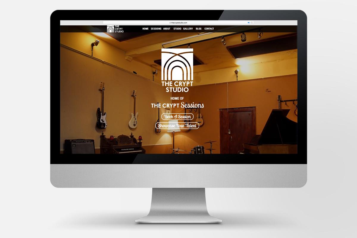 the_crypt_studio_logo_design_screen