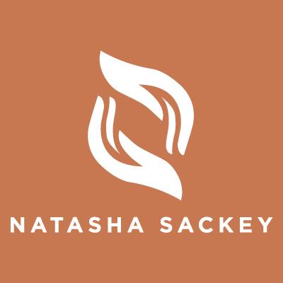 Natasha-Sackey-logo-colour-block-brown