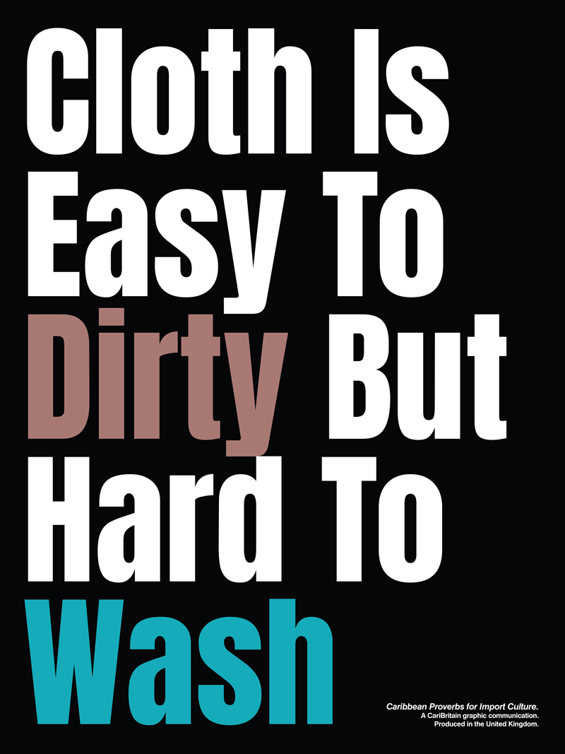 CariBritain_Cloth-Is-Easy-To-Dirty